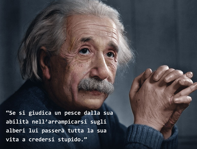 Einstein era dislessico?