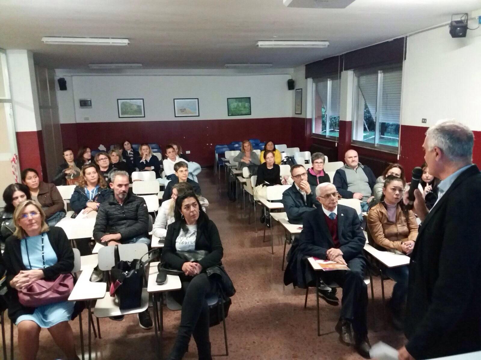 Positivo incontro alla scuola Margherita Hack di San Donato